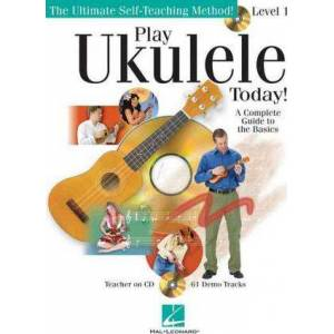 Play Ukulele Today] Level 1 (Book/Online Audio) by Barrett Tagliarino