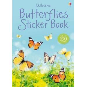 Butterflies Sticker Book by Usborne