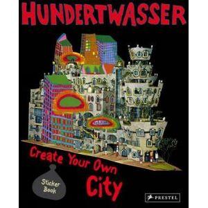 Hundertwasser: Create Your Own City Sticker Book by Doris Kutschbach