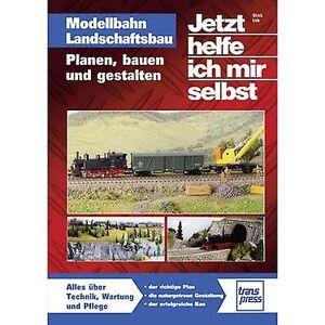 Transpress modellbahn Landschaftsbau-planen, Bauen und Gestalten 978-3-613-71428-1