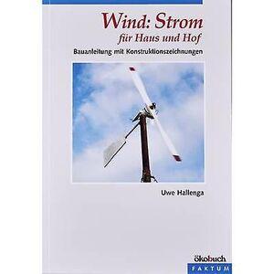 Oekobuch Ökobuch Wind: Strom für Haus und Hof 978-3-93689-612-1