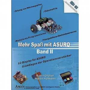 ARexx lærebok Mehr Spaß mit ASURO, Band 2 passer for (robot monteringssett): ASURO