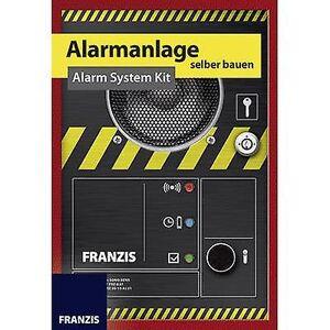 Franzis Verlag 65293 Zelfbouwpakket alarminstallatie Science kit 14 år og over
