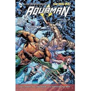 Aquaman Vol. 4 Death Of A King The New 52 by Geoff Johns
