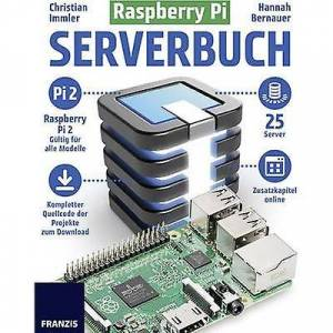 Franzis Verlag bringebær PI Serverbuch 978-3-645-60441-3