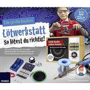 Franzis Verlag 65352 Lötwerkstatt Monteringssett 14 år og over