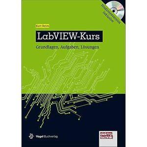Vogel Buchverlag Vogel Communications Group LabVIEW-kurs 978-3-8343-3294-3