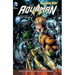 Aquaman Vol. 1 The Trench The New 52 by Geoff Johns