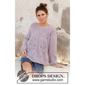 Drops - Garnstudio Sweet Topaz av DROPS Design - Genser Strikkeoppskrift str. S - XXXL
