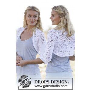 Drops - Garnstudio Kamelia by DROPS Design - Sjelevarmer Strikkeoppskrift str. S - XXXL