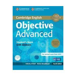 Dell O'Dell, Felicity Objective Advanced Student's Book Pack (Student's Book with Answers with CD-ROM and Class Audio CDs (2)) (1107691885)