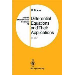 Braun Martin Differential Equations and Their Applications (0387979387)