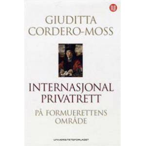 Cordero-Moss, Giuditta Internasjonal privatrett (8215020585)