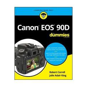 Canon Correll, Robert Canon EOS 90D For Dummies (1119674670)