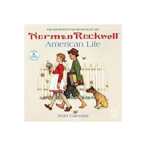 ART Norman Rockwell American Life 2020 Wall Calendar (1419737643)