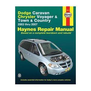 Wegmann, John Dodge Caravan, Chrysler Voyager and Town & Country Automotive Repair Manual (1563928507)