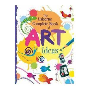 ART Usborne Complete Book Of Art Ideas Reduced Spiral Bound (1409507629)