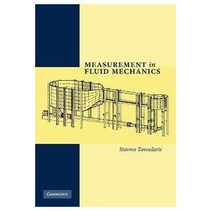 Tavoularis, Stavros Measurement in Fluid Mechanics (0521138396)