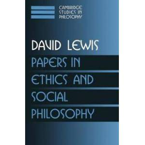 Lewis, David Papers in Ethics and Social Philosophy: Volume 3 (0521587867)