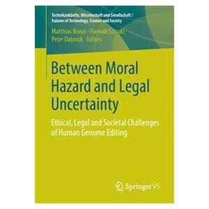 Braun Matthias Between Moral Hazard and Legal Uncertainty (3658226595)