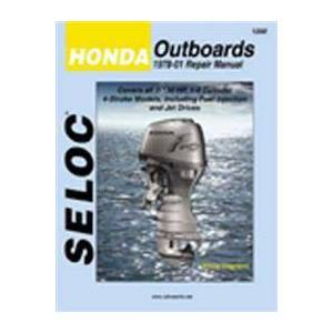 Seloc Honda Outboards, All Engines, 1978-01 (0893300489)