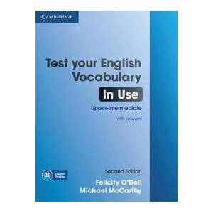 Dell Test Your English Vocabulary in Use Upper-intermediate Book with Answers (110763878X)