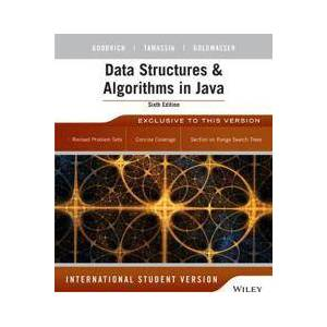 Goodrich, Michael T. Data Structures and Algorithms in Java (1118808576)