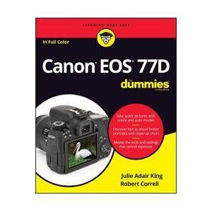 Canon King, Julie Adair Canon EOS 77D For Dummies (1119420091)