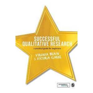 Braun Dr. Virginia Successful Qualitative Research - A Practical Guide for Beginners (1847875823)