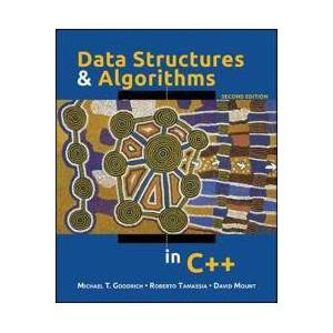 Goodrich, Michael T. Data Structures and Algorithms in C++ (0470383275)
