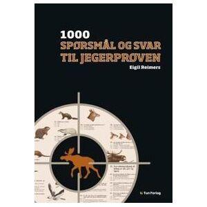 Reimers, Eigil 1000 spørsmål og svar til jegerprøven (825293353X)