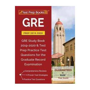 Test Prep Books GRE Prep 2019 & 2020 (1628456051)