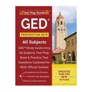 Test Prep Books 2018 & 2019 Team GED Preparation 2019 All Subjects (1628455926)