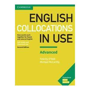 Dell English Collocations in Use Advanced Book with Answers (1316629953)