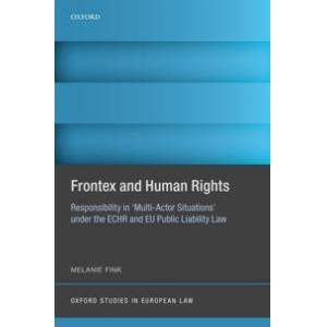 Fink, Melanie Frontex and Human Rights (0198835450)