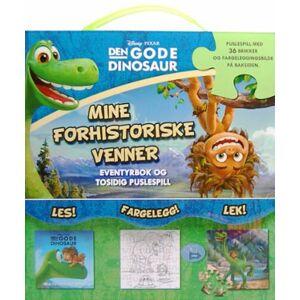 Den gode dinosaur. Mine forhistoriske venner. Eventyrbok og puslespill. Les, fargelegg, lek! Puslesp