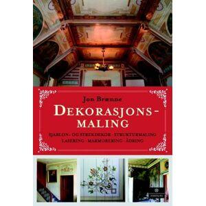 Dekorasjonsmaling - sjablon- og strekdekor, strukturmaling, lasering, marmorering, ådring