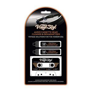 Rensekassett - Audio Cassette Head Cleaner & Demagnetizer (USA-import)