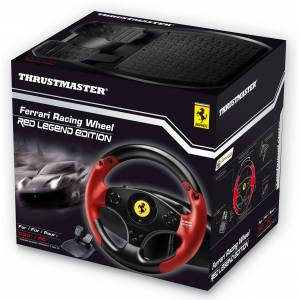 Acer Ferrari Racing Wheel - Red Legend PS3/PC