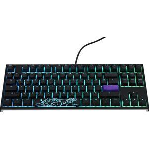 Ducky One 2 Backlit TKL Cherry MX Brown /W RGB LED,Nordic Layout - Gamingtastatur