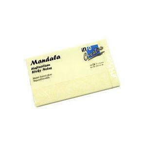 info Notatblokk INFO Mandala 75x125mm gul
