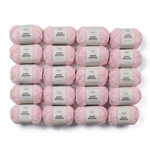 Adlibris Baby Merinoull Garn 50g 20-pack (Z000123103)