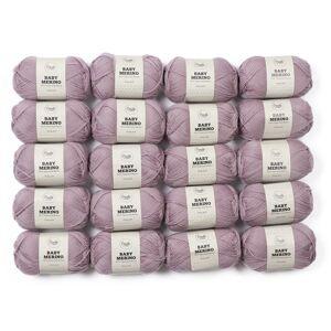 Adlibris Baby Merinoull Garn 50g 20-pack (Z000123096)