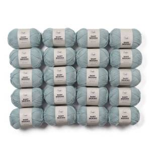 Adlibris Baby Merinoull Garn 50g 20-pack (Z000123099)