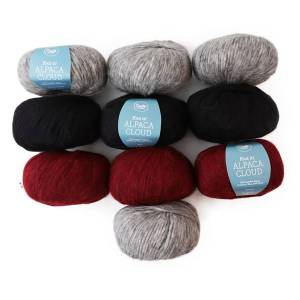 Color Pack Adlibris Alpaca Cloud 50g, 10-Pack (Z000145047)