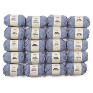 Adlibris Baby Merinoull Garn 50g 20-pack (Z000123100)