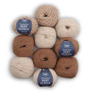 Adlibris Baby Alpaca Garn 50g 10-pack (Z000160313)