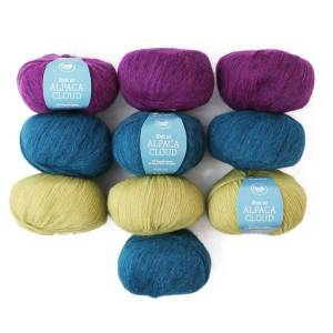 Color Pack Adlibris Alpaca Cloud 50g, 10-Pack (Z000145043)