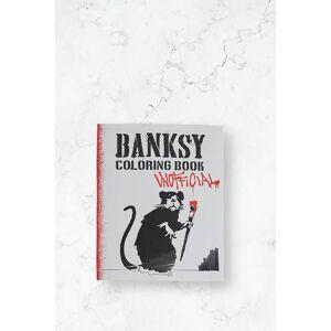 Dokument Press Bok Banksy Coloring Book Vit  Male Vit