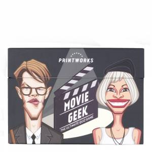 PrintWorks Spel Movie Geek Trivia